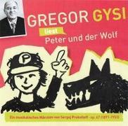 Cover-Bild zu Gysi, Gregor: Gregor Gysi liest Peter und der Wolf