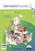 Cover-Bild zu Umweltfreunde, Thüringen - Ausgabe 2010, 4. Schuljahr, Arbeitsheft, Mit Wegweiser Arbeitstechniken und CD-ROM von Arnold, Jana