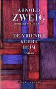 Cover-Bild zu De Vriendt kehrt heim - Sämtliche Werke - Berliner Ausgabe von Zweig, Arnold