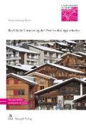 Cover-Bild zu Rechtliche Umsetzung der Zweitwohnungsinitiative von Lustenberger, Erik