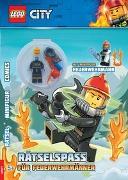Cover-Bild zu Ameet Verlag: LEGO® City - Rätselspaß für Feuerwehrmänner