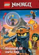Cover-Bild zu Ameet Verlag: LEGO® NINJAGO® - Rätselspaß für starke Ninja