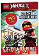 Cover-Bild zu Ameet Verlag: LEGO® NINJAGO® - Stickerabenteuer. Coole Ninja-Missionen