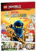 Cover-Bild zu Ameet Verlag: LEGO® NINJAGO® - Rätselmalspaß mit Comics