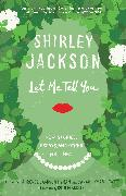 Cover-Bild zu Let Me Tell You von Jackson, Shirley