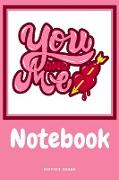 Cover-Bild zu YOU AND ME NOTEBOOK von Bound, Perfect
