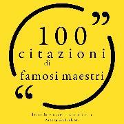 Cover-Bild zu Bonaparte, Napoléon: 100 citazioni di famosi maestri (Audio Download)