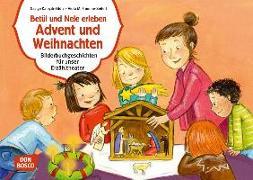 Cover-Bild zu Fromme-Seifert, Viola M.: Betül und Nele erleben Advent und Weihnachten. Kamishibai Bildkartenset