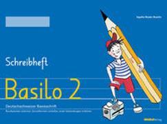 Cover-Bild zu Bieder Boerlin, Agathe: Basilo 2 - Schreibheft