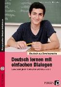 Cover-Bild zu Deutsch lernen mit einfachen Dialogen von Jaglarz, Barbara
