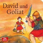 Cover-Bild zu David und Goliat. Mini-Bilderbuch von Brandt, Susanne