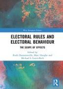 Cover-Bild zu Dassonneville, Ruth (Hrsg.): Electoral Rules and Electoral Behaviour (eBook)