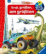 Cover-Bild zu Groß, größer, am größten (Riesenbuch) von von Kessel, Carola