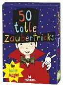 Cover-Bild zu 50 tolle Zaubertricks für kleine Magier von Kessel, Carola von