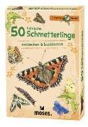 Cover-Bild zu 50 heimische Schmetterlinge von Kessel, Carola von