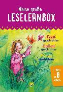 Cover-Bild zu Meine große Leselernbox: Feengeschichten, Ballettgeschichten, Pferdegeschichten (eBook) von Breitenborn, Anke