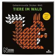 Cover-Bild zu Geheimnisvolle Sticker-Welt: Tiere im Wald von von Kessel, Carola