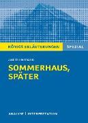 Cover-Bild zu Hermann, Judith: Sommerhaus, später. Königs Erläuterungen (eBook)
