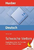 Cover-Bild zu Schwache Verben (eBook) von Dinsel, Sabine