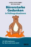 Cover-Bild zu Bärenstarke Gedanken in Prüfungssituationen von Baisch-Zimmer, Saskia