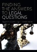 Cover-Bild zu Tucker, Virginia M.: Finding the Answers to Legal Questions (eBook)