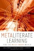 Cover-Bild zu Mackey, Thomas P. (Hrsg.): Metaliterate Learning for the Post-Truth World (eBook)