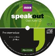 Cover-Bild zu Speakout Pre-intermediate Class Audio CD von Clare, Antonia