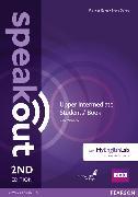 Cover-Bild zu Speakout 2nd Edition Upper Intermediate Coursebook with DVD Rom & MyEnglishLab von Wilson, JJ