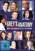 Cover-Bild zu Grey's Anatomy - 6. Staffel von Rhimes, Shonda (Reg.)