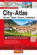 Cover-Bild zu City-Atlas Schweiz mit 55 Stadtpläne. 1:0