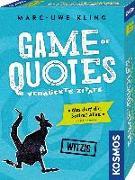 Cover-Bild zu Game of Quotes - Verrückte Zitate von Kling, Marc-Uwe