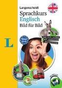 Cover-Bild zu Langenscheidt Sprachkurs Englisch Bild für Bild - Der visuelle Kurs für den leichten Einstieg mit Buch und einer MP3-CD von Amor, Stuart