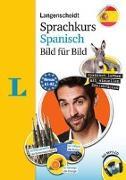 Cover-Bild zu Langenscheidt Sprachkurs Spanisch Bild für Bild - Der visuelle Kurs für den leichten Einstieg mit Buch und einer MP3-CD von Langenscheidt, Redaktion (Hrsg.)