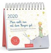 Cover-Bild zu Postkartenkalender Man sieht nur mit dem Herzen gut ... 2020