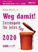 Cover-Bild zu Weg damit! 2020 Tagesabreißkalender