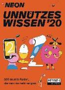 Cover-Bild zu NEON - Unnützes Wissen 2020