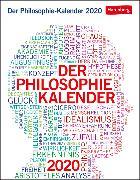 Cover-Bild zu Der Philosophie-Kalender Kalender 2020