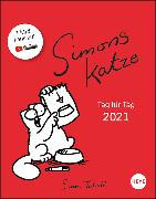 Cover-Bild zu Simons Katze Tagesabreißkalender Kalender 2021