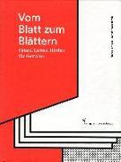 Cover-Bild zu Vom Blatt zum Blättern