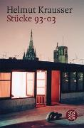 Cover-Bild zu Krausser, Helmut: Stücke 93-03
