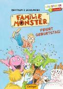 Cover-Bild zu Familie Monster feiert Geburtstag! von Bertram, Rüdiger