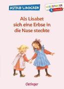 Cover-Bild zu Als Lisabet sich eine Erbse in die Nase steckte von Lindgren, Astrid