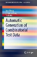 Cover-Bild zu Zhang, Jian: Automatic Generation of Combinatorial Test Data