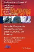 Cover-Bild zu Zeng, Xiaoqing (Hrsg.): International Symposium for Intelligent Transportation and Smart City (ITASC) 2019 Proceedings