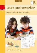 Cover-Bild zu Lesen und verstehen 3./4. Schuljahr. Ausgabe B. Kopiervorlagen von Thüler, Ursula