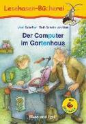 Cover-Bild zu Der Computer im Gartenhaus / Silbenhilfe von Scheffler, Ursel