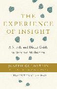 Cover-Bild zu Goldstein, Joseph: The Experience of Insight