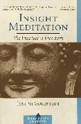 Cover-Bild zu Goldstein, Joseph: Insight Meditation
