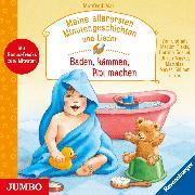 Cover-Bild zu Meine allerersten Minutengeschichten und Lieder. Baden, kämmen, Pipi machen (Audio Download) von Mai, Manfred
