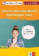 Cover-Bild zu Klett 10-Minuten-Training Mathematik Lineare und quadratische Gleichungen lösen 7./8. Klasse (eBook) von Homrighausen, Heike